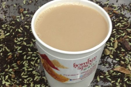 Free Hot Chai Tea at Bombay Spice in January