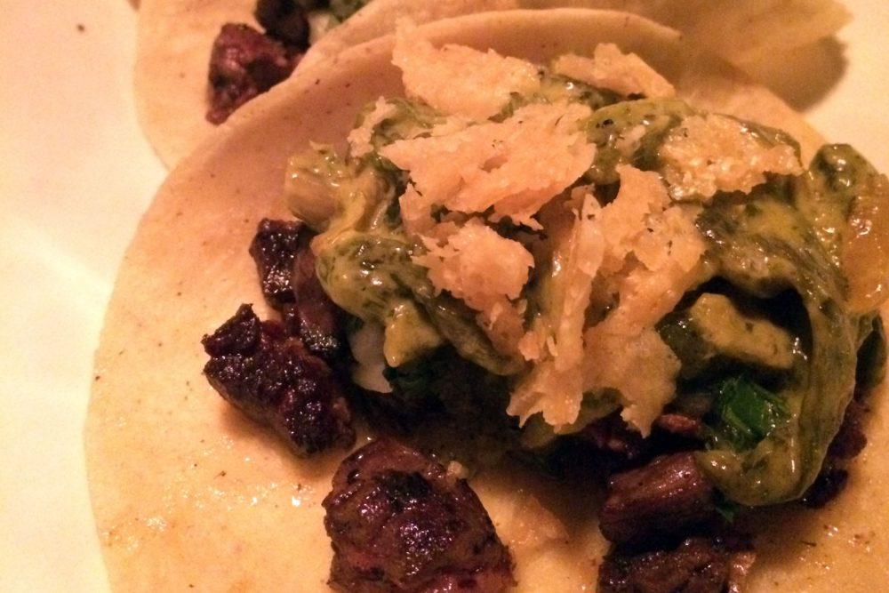 Mercadito Fish Steak Tacos