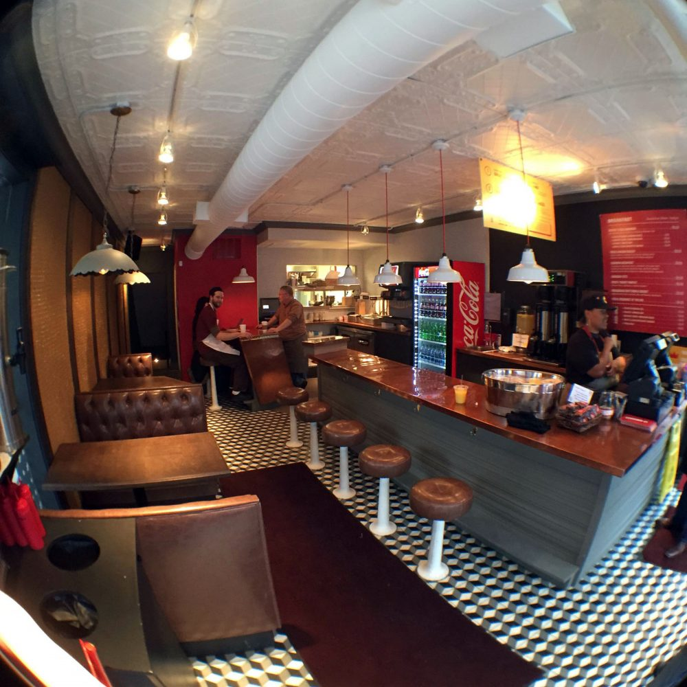 Leghorn Cafe Interior