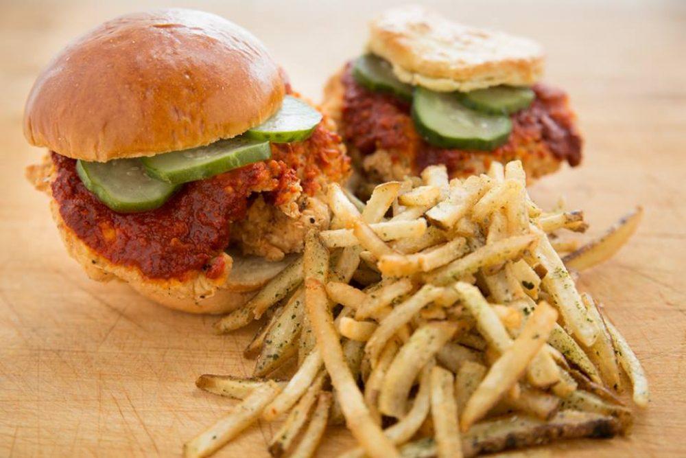 Leghorn Chicken Sandwich Spicy