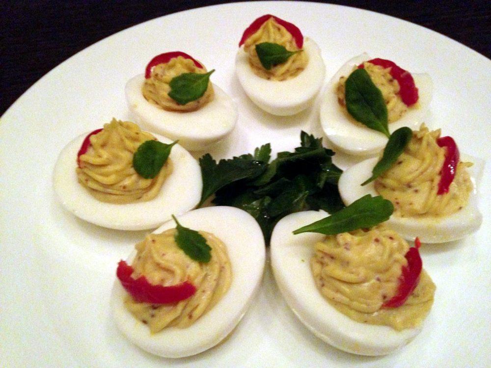 Knife & Tine Deviled Eggs