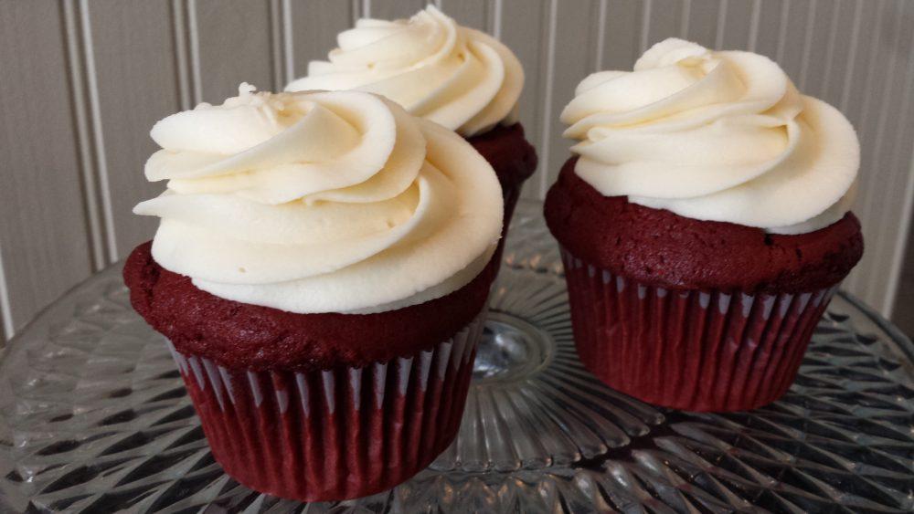 Red Velvet Cupcakes - Sensational Bites