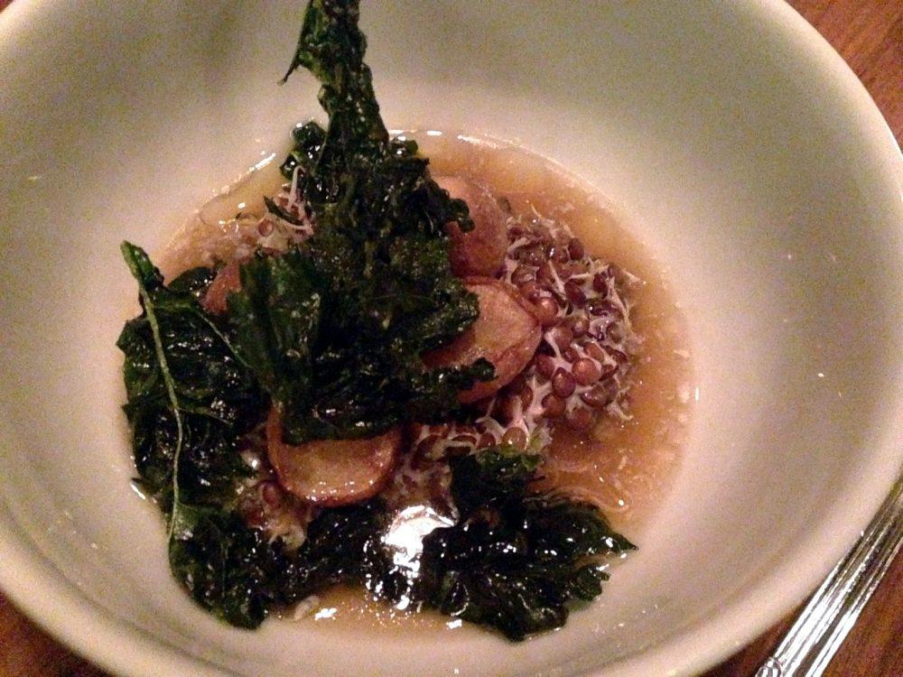Smoked Hakuri Turnips - Trenchermen Restaurant Week
