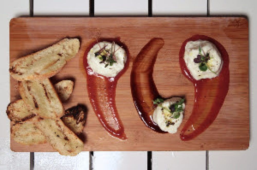 Burrata with Trio of Perservatives