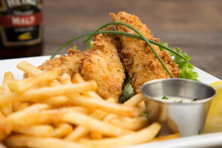 Friday Fish Fry with a Pint of Alaskan Brewing IPA at Dark Horse Tap & Grille