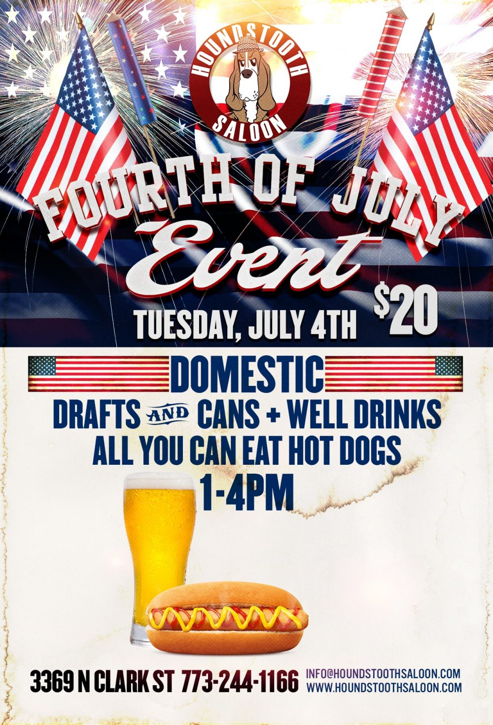 4th of July at Houndstooth Saloon