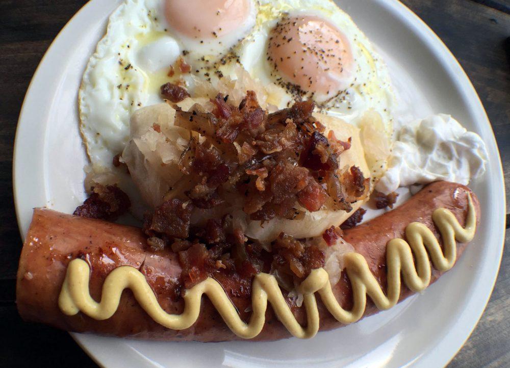 Polak Eatery sausage breakfast
