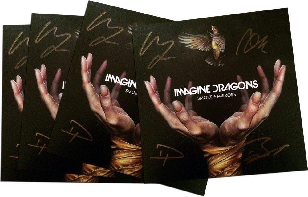 Imagine Dragons signed lithographs