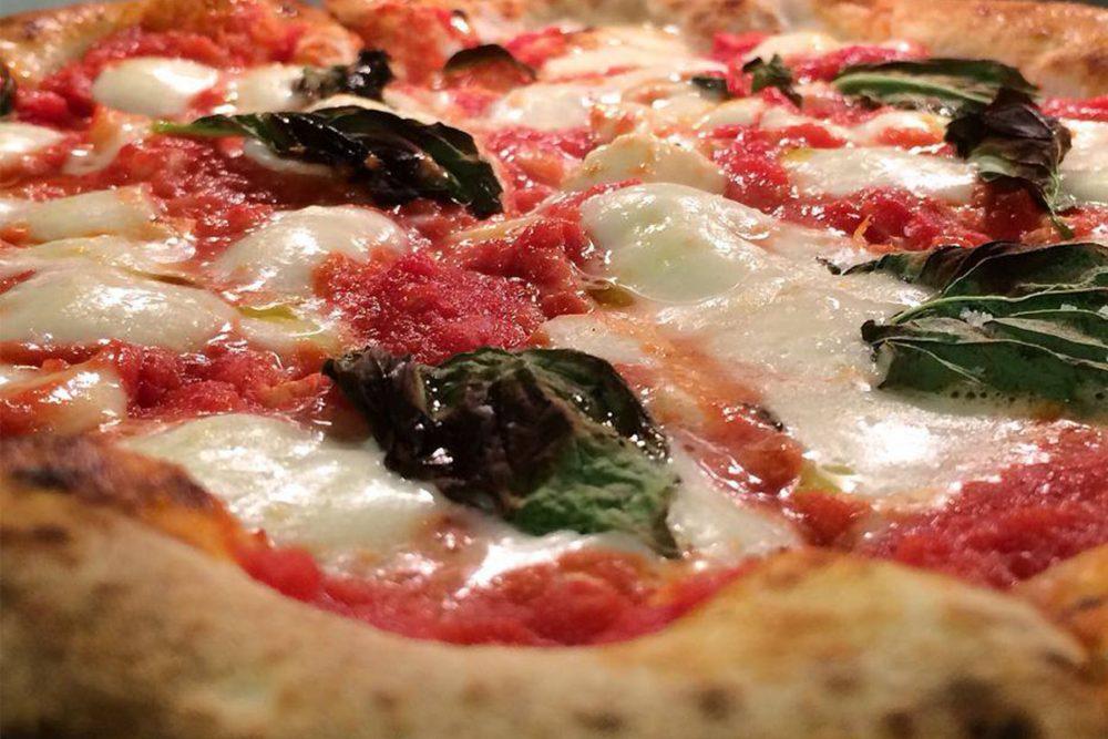 Nellcôte margherita pizza