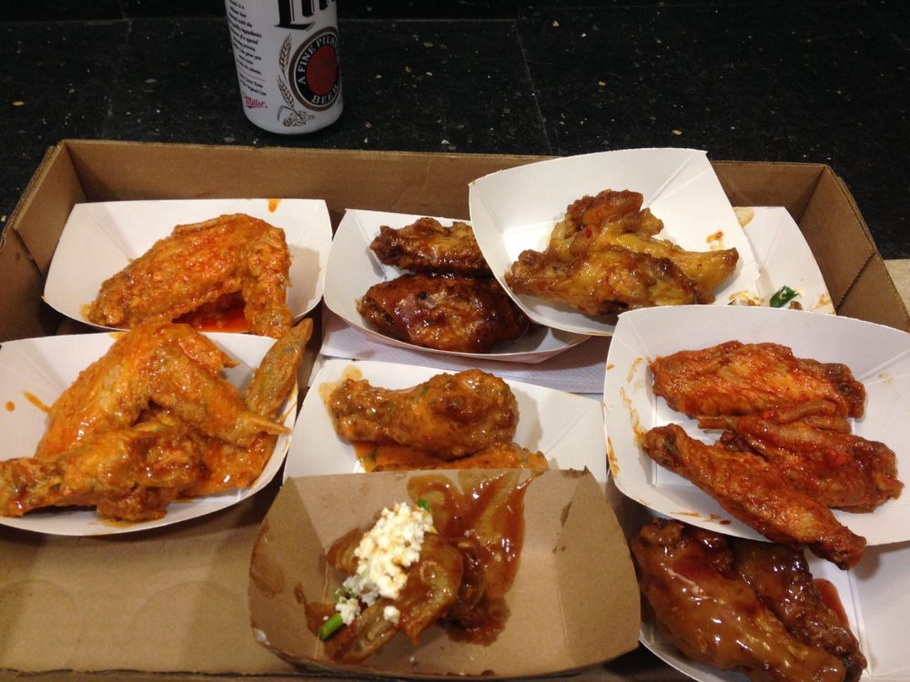WingFest 2015 Wing Samples