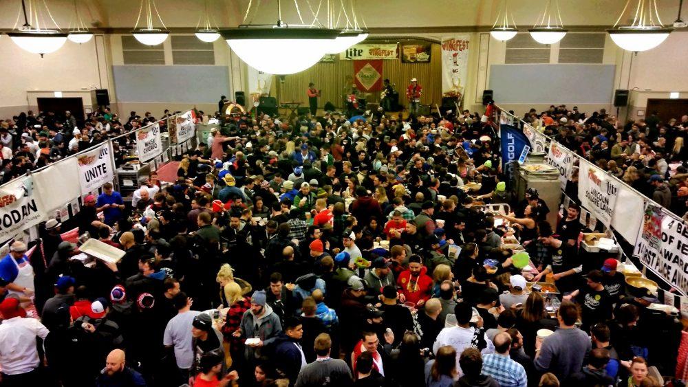 WingFest 2015 Crowd