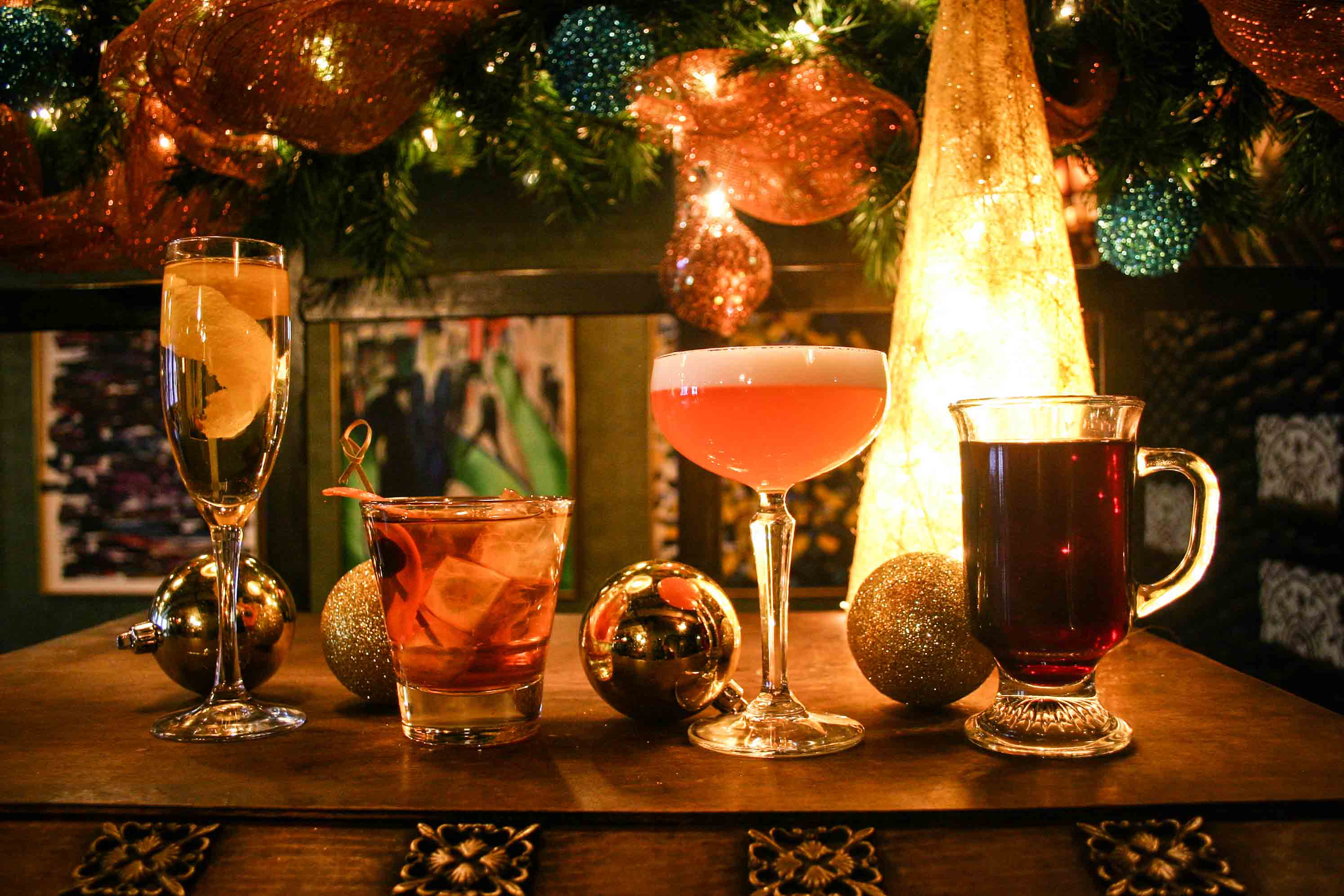 Eat Drink And Be Merry With Holiday Inspired Cocktails And Dishes
