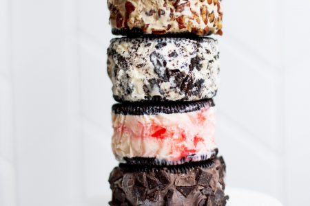 They're Back: Cocoa + Co.'s Giant Oreo Ice Cream Sandwiches