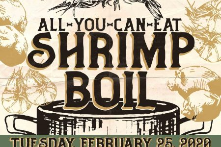 Fat Tuesday Shrimp Boil at Frontier