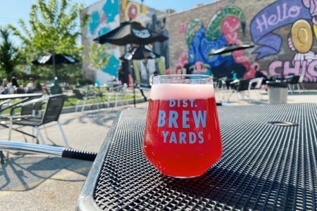 District Brew Yards Reopens with New Patio