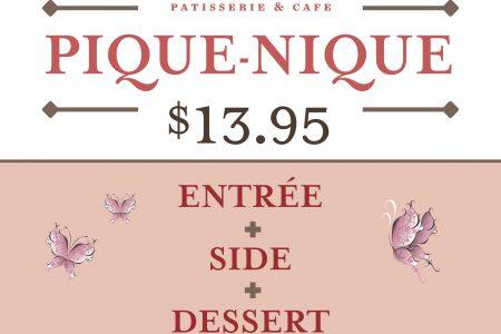 Toni Patisserie Offers Gourmet Pique-Nique Boxes To Go