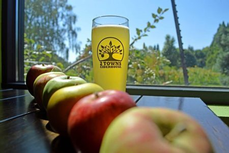 2 Towns Ciderhouse Tap Takeover at Mac's Wood Grilled on December 14