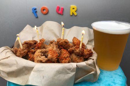 Honey Butter Fried Chicken Turns Four