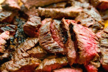 Outdoor Steak Grill at Rojo Gusano Sun May 27