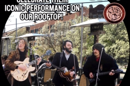 The Piggery Hosts a Live Tribute to The Beatles' Rooftop Concert