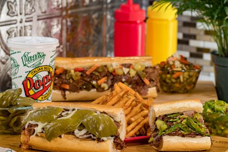 Beef Up Your May on National Italian Beef Day at Pop's on May 23