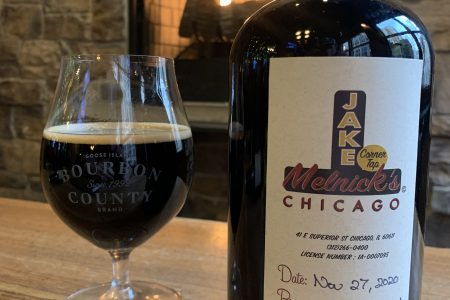 Jake Melnick's Tapping Bourbon County on Black Friday