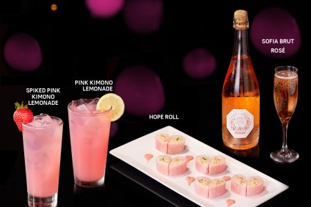Eat and Drink Pink this October with RA Sushi