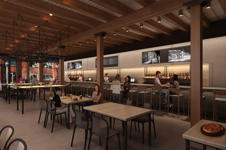 Chicago's Newest Food Hall, Fulton Galley, Opening June 2019