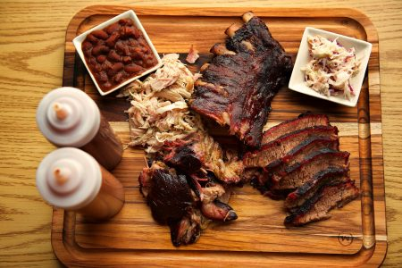 October is Kids Eat Free Month at Mr. B's BBQ