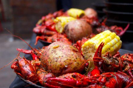 Spring Crawfish Boil at Frontier
