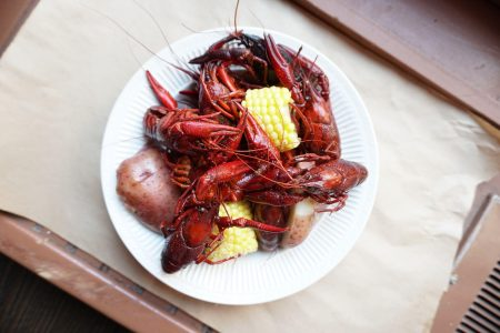Celebrity Chef David Dickensauge Joins Heaven on Seven for a Crawfish Boil on May 31