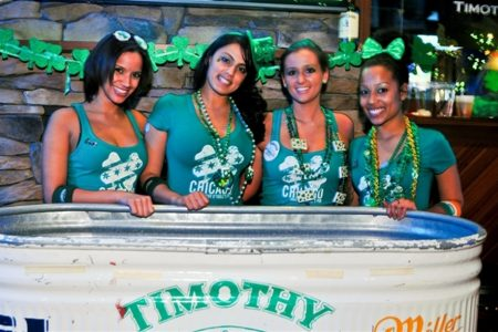 Halfway to St. Patrick's Day at Timothy O'Toole's