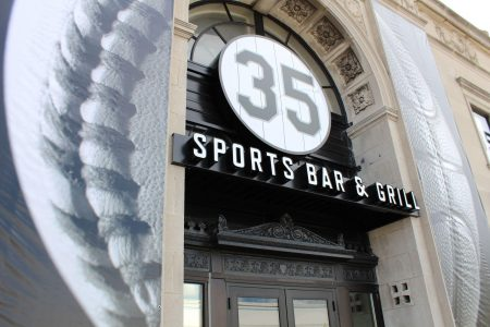 Frank Thomas' 35 Sports Bar & Grill Grand Opening