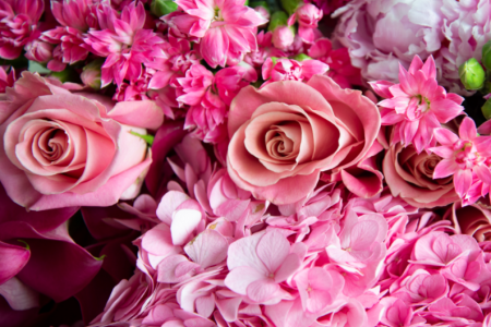 Travelle At The Langham Pretty In Pink: Pop-Up Flower Shop