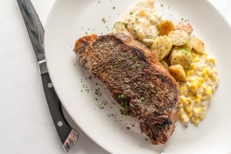 Special New York Strip Dinner at III Forks