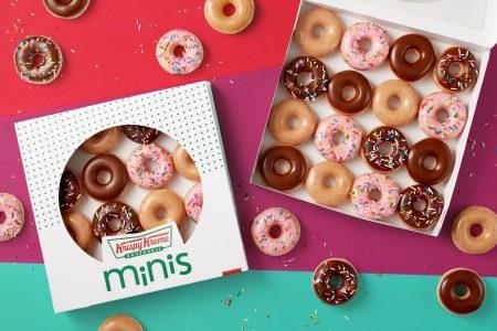 Krispy Kreme Goes Mini with Mini Doughnuts and FREE Mini Mondays