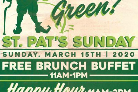 St. Pat's Sunday at Lottie's
