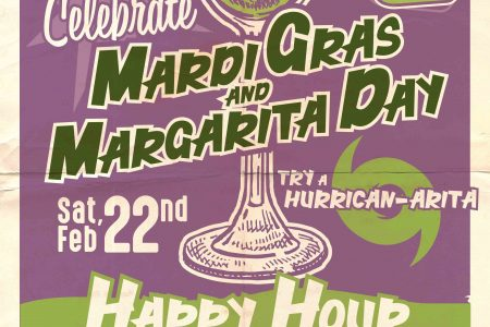 Lottie's Mardi Gras Margarita Day Celebration