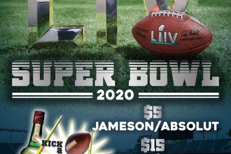 Super Bowl 2020 at Lottie's Pub
