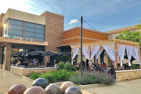 Mora Restaurant Group Opens Patios and Street Seating at Restaurants, Introduces Pop-Up Outdoor Dining Experience Near Aurora's Riverfront
