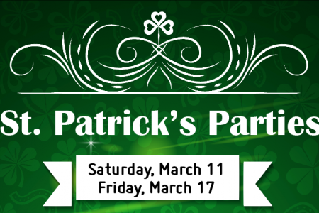 St. Patrick's Day Parties at Mac's Wood Grilled and Tuman's Tap & Grill