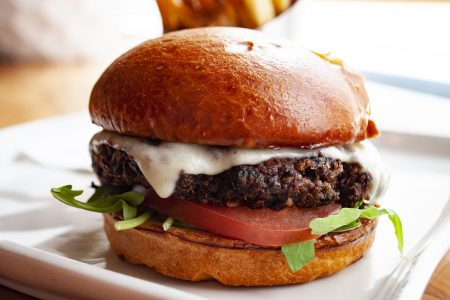 National Veggie Burger Day at Marshall's Landing