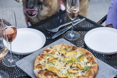 Onward Debuts Doggie Dining with a Cause and New Patio