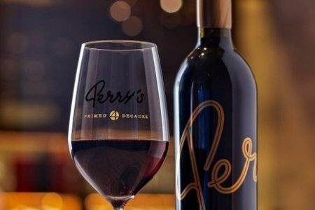 Perry's Steakhouse & Grille Offers 40th Anniversary Commemorative Wine Glasses