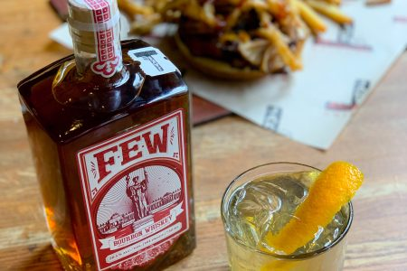 Jake Melnick's Partners with FEW Distillery