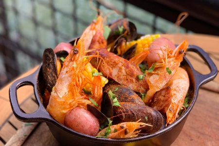 Toast the End of Summer with River Roast's Seafood Boil