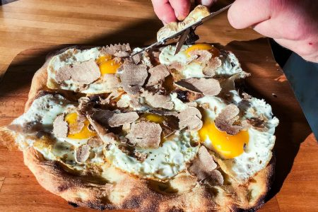 Bar Cargo Debuts White Truffle Pizza