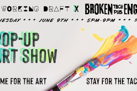 A Pop-Up Art Show is Coming to Broken English Lincoln Park on June 9th
