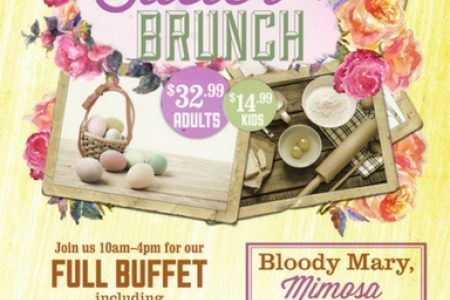 A Hoppin' BBQ Brunch Buffet on Easter Sunday at Rack House