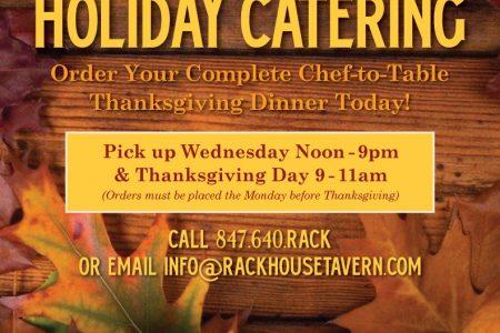 Thanksgiving Pickup at Rack House